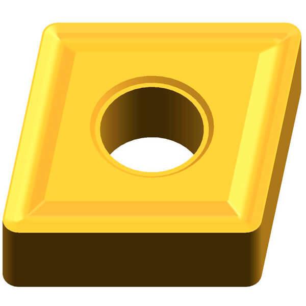 сменная многогранная токарная пластина cnmg 190616 rp по нержавейке